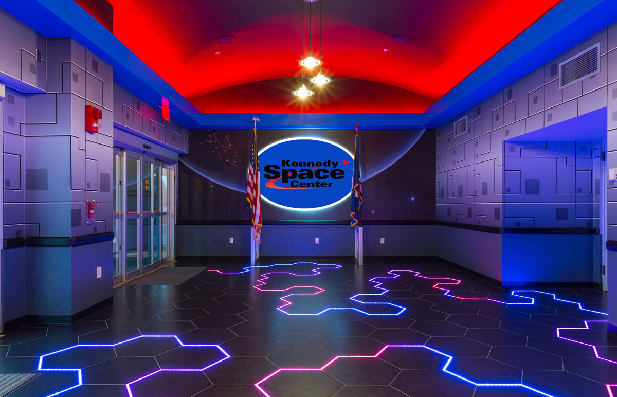 Themed Environment For The Kennedy Space Center Visitor