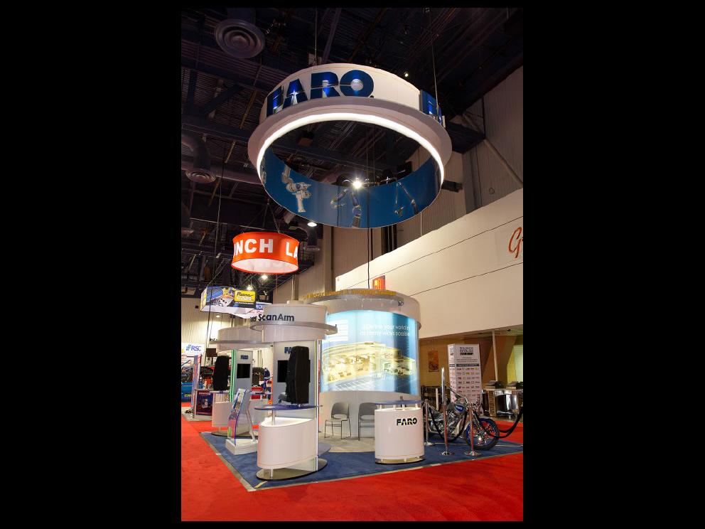 Faro Trade Show Display
