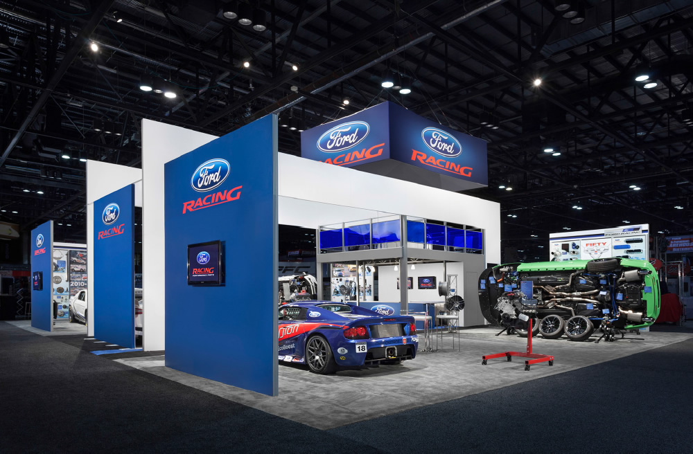 Ford Racing Trade Show Display