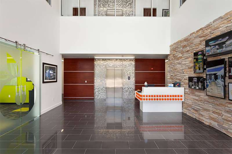 DesignShop's Lobby Entrance