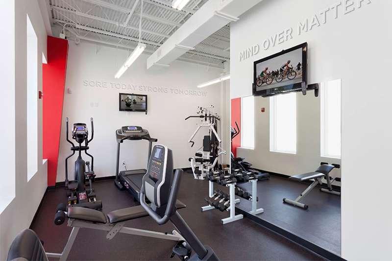 DesignShop's Employee Fitness Center