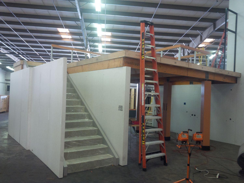 Refurbishing a trade show booth