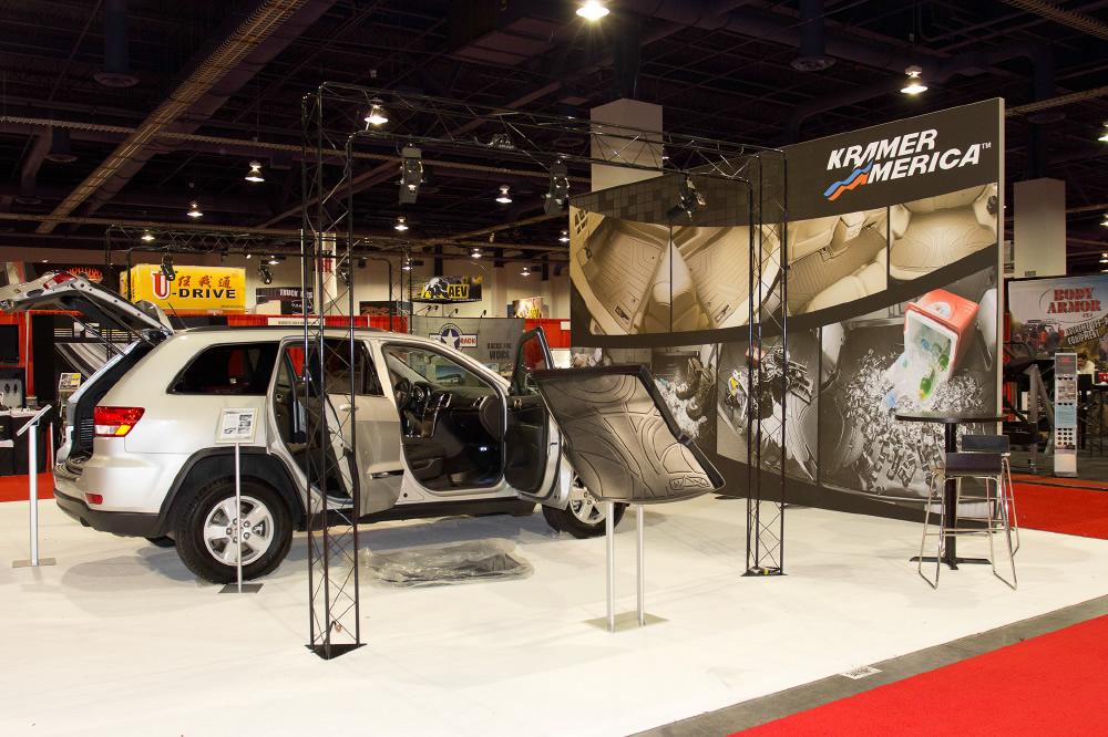 Kramer America Trade Show Display