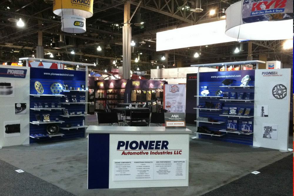 Pioneer Automotive Trade Show Display