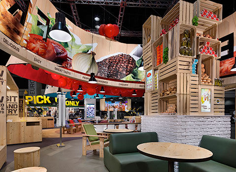 mcdonald's europe trade show booth