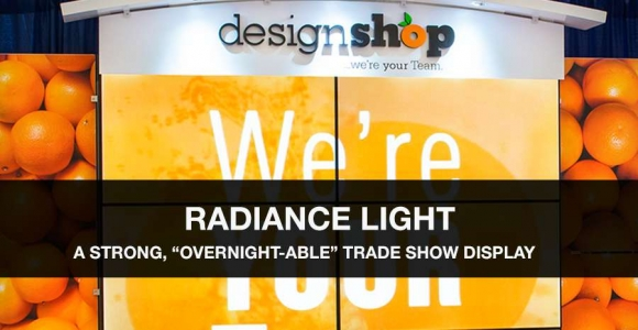 radiance light trade show displays