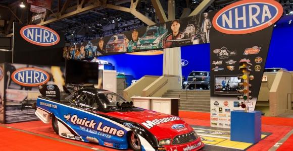 NHRA Trade Show Exhibit