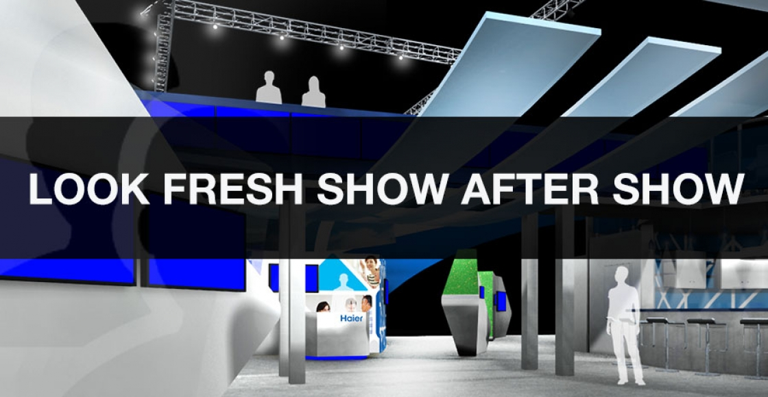 Trade Show Rentals - Look Different from Show to Show