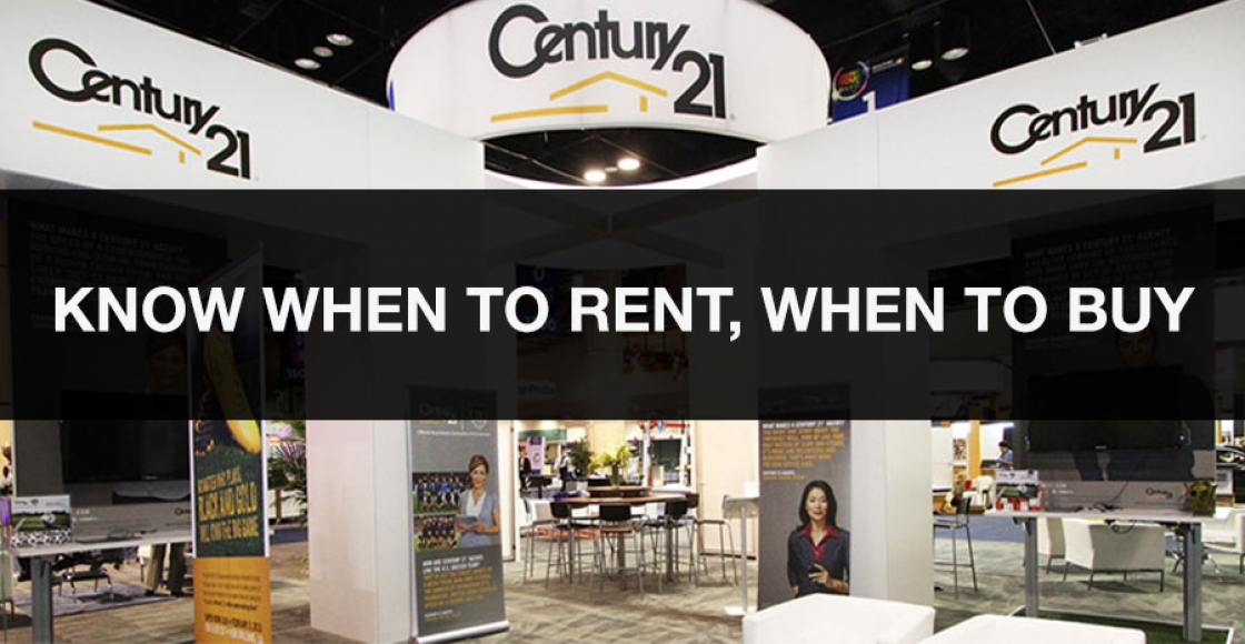 When to rent and when to buy your trade show exhibit