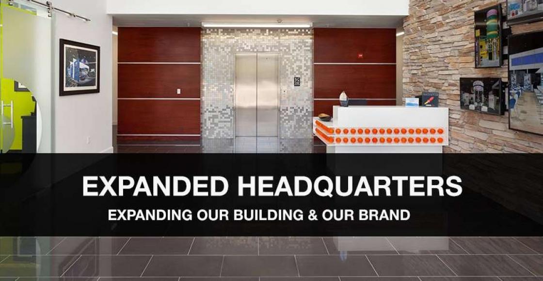 DesignShop's expanded Orlando headquarters