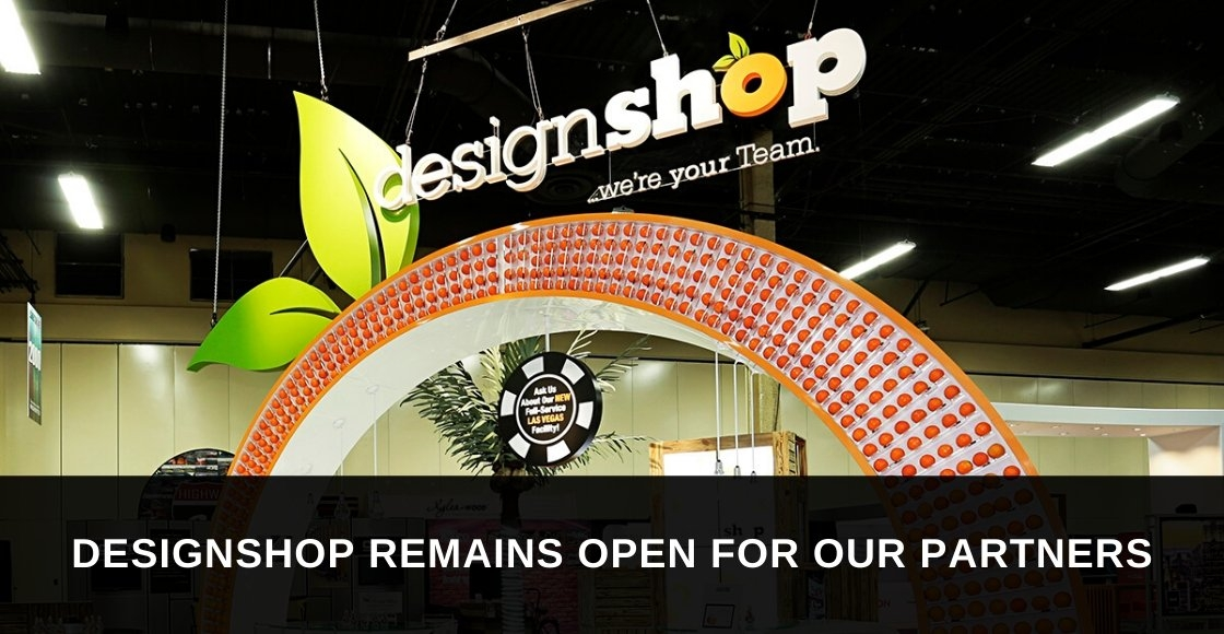 DesignShop Will Remain Open for Trade Show Partners