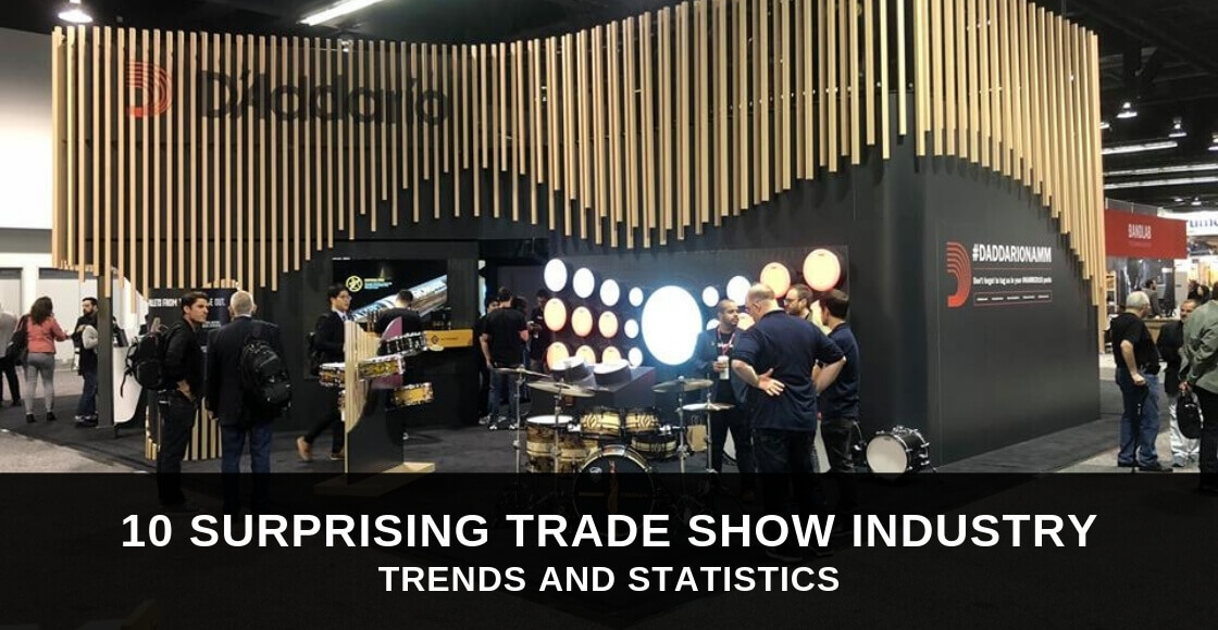 10 Surprising Trade Show Industry Trends & Statistics