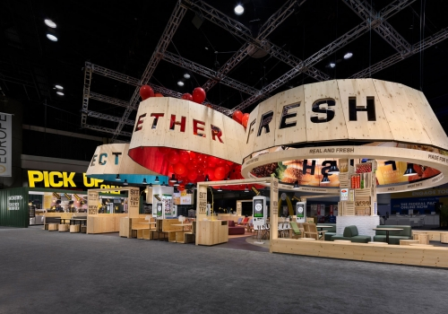 DesignShop - McDonalds Trade Show Exhibit - Restaurant Display