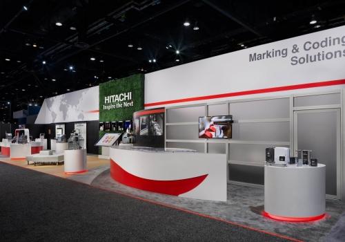 Hitachi Rental Trade Show Exhibit