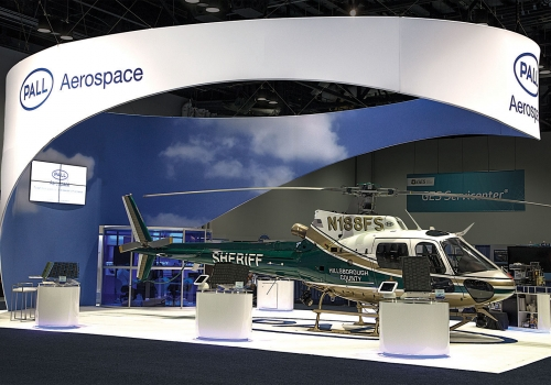 Pall Aerospace Custom Rental Trade Show Exhibit