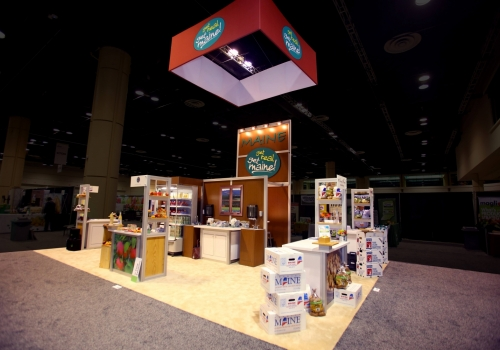 State of Maine Rental Trade Show Exhibit